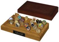 military coin display rack