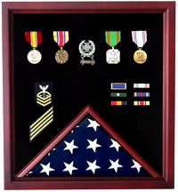 flag display flag case military flag shadow box