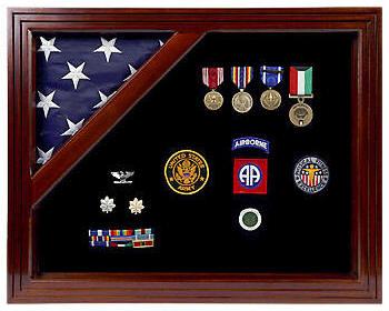 Custom personalized military retirement shadow box shadowbox for