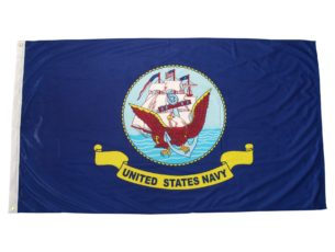 Official United States Navy flag