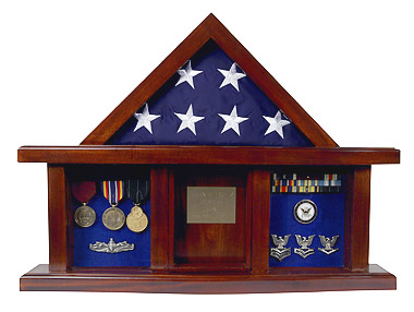 Flag Case, George Washington Classic Shadow Box