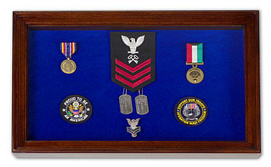 The Ulysses S. Grant Large Military Medals Display Case