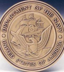 Navy Logo Medallion