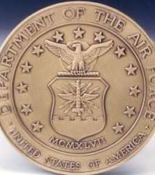 Air Force logo medallion