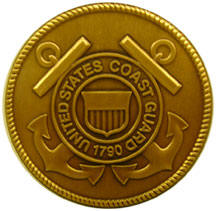 Coast Guard logo medallion