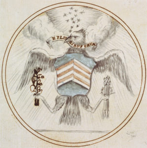 original draft of the great seal of the united states