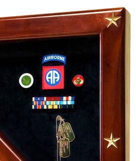 freedom flag case & shadow box
