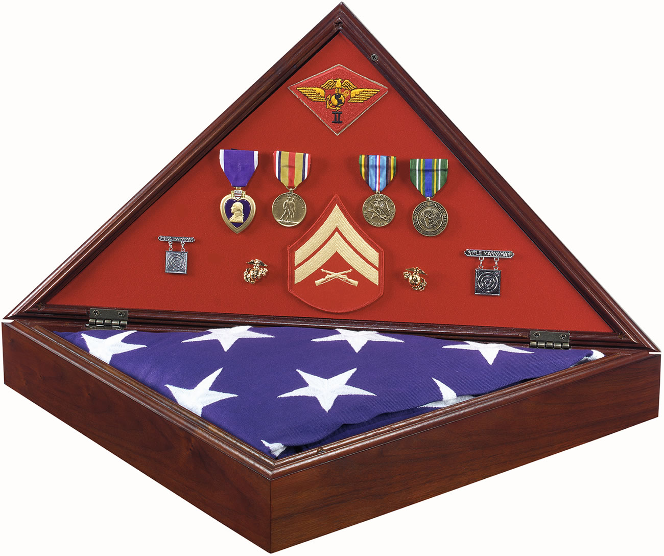 Description The Heritage American Flag Case