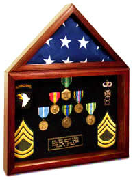 capitol flag certificate display case