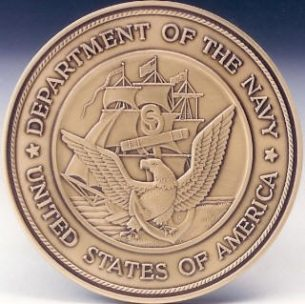 Navy Logo Medallion