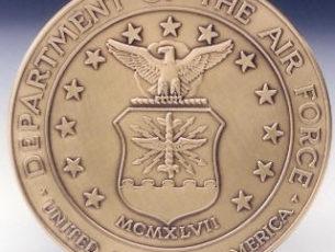 Air Force logo medallion