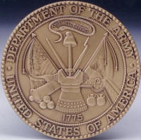 Army logo medallion